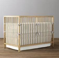 airin spindle crib restoration hardware baby delaney nursery