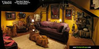 film themed bedroom custom man cave horror themed home theater