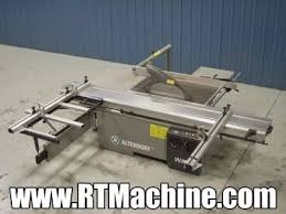 2nd Hand Woodworking Machinery Uk by Used Altendorf Model Wa8 Sliding Table Saw For Sale At Www