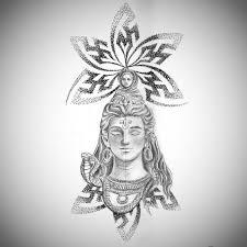 best shiva tattoos designs ideas shiva