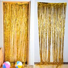 Gold Curtain Compare Prices On Gold Tinsel Curtain Online Shopping Buy Low