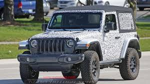 jeep wrangler rubicon top jeep wrangler rubicon two door top spied autoblog