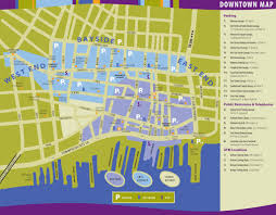 Portland Tourist Map by Downtown Portland Map Map