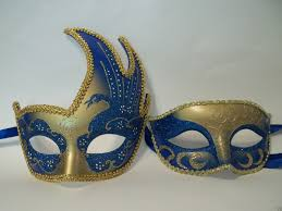 mardi gras masks for men blue gold couples woman masquerade mardi gras masks