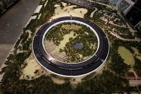 apple siege les plans du futur siège d apple en forme de soucoupe volante