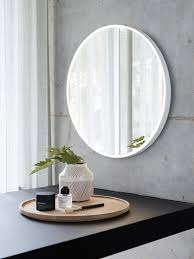 Round Bathroom Mirrors by Ledlux Reflextion Dimmable Round Led Light And Mirror 495