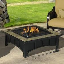 Fire Pit Price - fire sense square tuscan tile top mission style fire pit fire