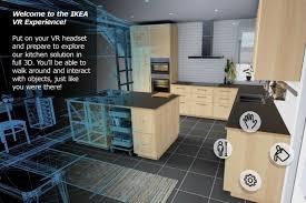 jeu de cuisine virtuel ikea lance sa kitchen vr experience une cuisine en réalité