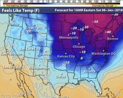 map usa how cold is it in the usa right now weather map shows big freeze