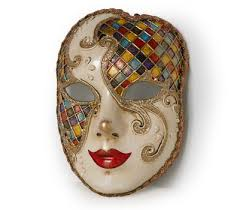 volto mask venetian mask volto mask with harlequin pattern