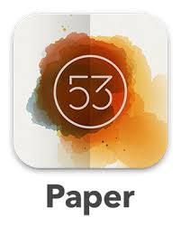 paper sketchbook app by 53 stuart chalmers design