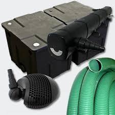 le uv pour etang kit de filtration 72w avec uv pour bassin de jardin 10 à 15 m