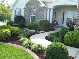 landscaping ideas front of house cheap garden astonishing yard