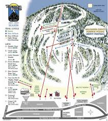 Colorado Ski Resort Map by Thunder Ridge Trail Map Liftopia