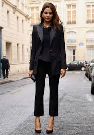 all black casual how to dress business casual at work and not look boring