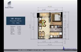 Park Central Floor Plan Central Park West By Federal Land Veritown Fort Bonifacio