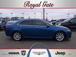 jeep acura 2006 acura tsx sedan in arctic blue pearl 013545 autos of asia