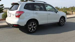 2013 subaru forester s4 my14 2 0d s awd pearl white 6 speed manual