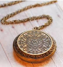 long locket pendant necklace images Best 25 antique locket ideas vintage necklaces jpg