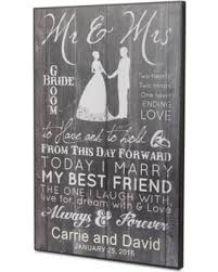 engraved wedding gifts savings on personalized new mr mrs wall personalized