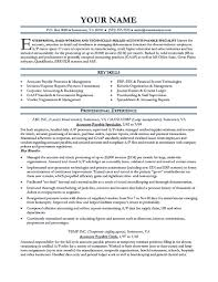 resume job template cover letter account payable resume sample account payable resume cover letter account receivable resume accounts sampleaccount payable resume sample extra medium size
