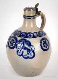 Vase Shaped Jug Antique Westerwald Stoneware Westerwald Tankard English Pottery