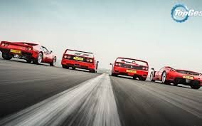 f50 top gear 288 gto f40 f50 enzo supercars track top gear