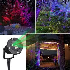 outdoor lights laser projector decorative lights