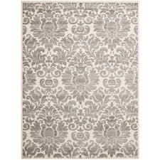 Grey Modern Rugs Safavieh Porcello Grey Ivory 8 Ft X 11 Ft 2 In Area Rug