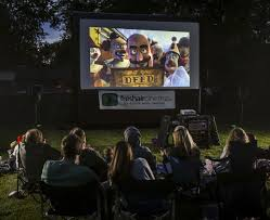 Backyard Movie Theatre by Outdoor Screenings Coming Soon To Your Backyard Toronto Star