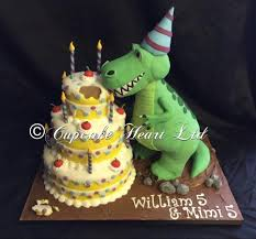dinosaur cake free standing dinosaur cake picture of cupcake heart cafe