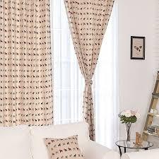 rideaux chambre d enfants meilleur cheval imprimé d coton rideau pour chambre d enfants