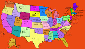 united states map with state names capitals and abbreviations us states and capitals map list of us states and capitals map of
