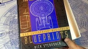 blueprints of the uss enterprise ncc 1701 d from star trek the