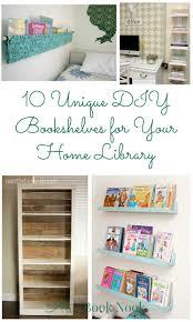 10 unique diy bookshelves for your home library ali u0027s book nook