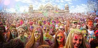holi festival of colors san lorenzo park