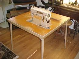 Folding Sewing Machine Table What Do You Know About The 401a Singer Card Tables