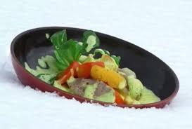 recette cuisine 2 telematin recette diot de savoie galette de polenta étuvée de légumes
