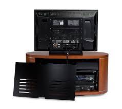 Audio Video Rack Systems Amazon Com Bdi Revo 9981 Double Wide Rotating Entertainment
