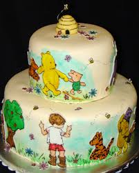 winnie the pooh cakes layers of classic winnie the pooh cake