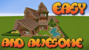 Rustic House How To Build A House Freehand How To Build A House In Minecraft
