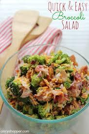 best 25 easy broccoli salad ideas on broccoli salad