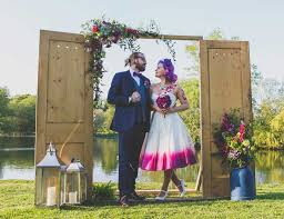 wedding backdrop altar rustic door arch photo backdrop wedding prop hire