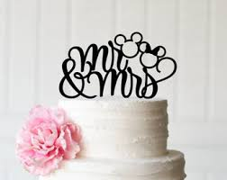 mickey and minnie cake topper disney wedding cake topper etsy