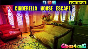 g4k cinderella house escape game walkthrough youtube
