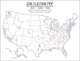 Picture Of Map This Might Be The Best Map Of The 2016 Election You Ever See Vox