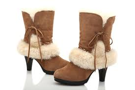 ugg heel boots sale leather ugg boots sale office ugg fur suede high heeled boots