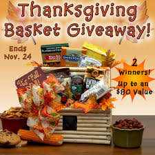 thanksgiving gift basket giveaway 2 winners building our story