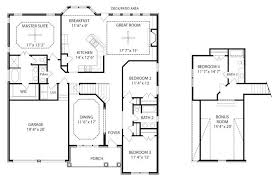 one story floor plans with bonus room 4 bedroom floor plans with bonus room house decorations