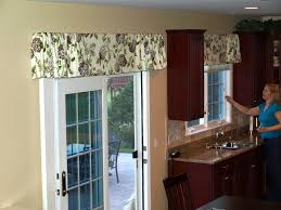 valance ideas custom valance idea dining room window treatment